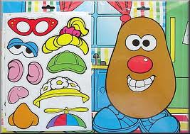 If I put the blond ponytail it would still be Mr.Potato Head right?