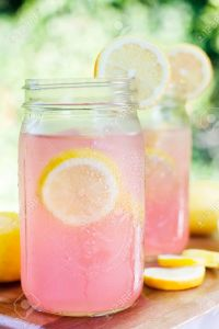 32588397-pink-lemonade-in-mason-jars-stock-photo